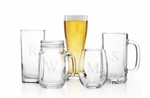 Monogrammed glassware makes great gifts for your bridal party and looks great on a head table. Check out the great deal we found on them at Macy's.