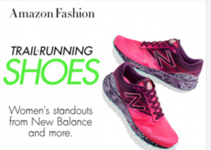 Shop trail running shoes on Amazon, get moving before the big day!