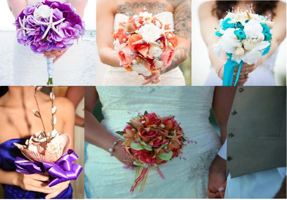 Beach bouquets