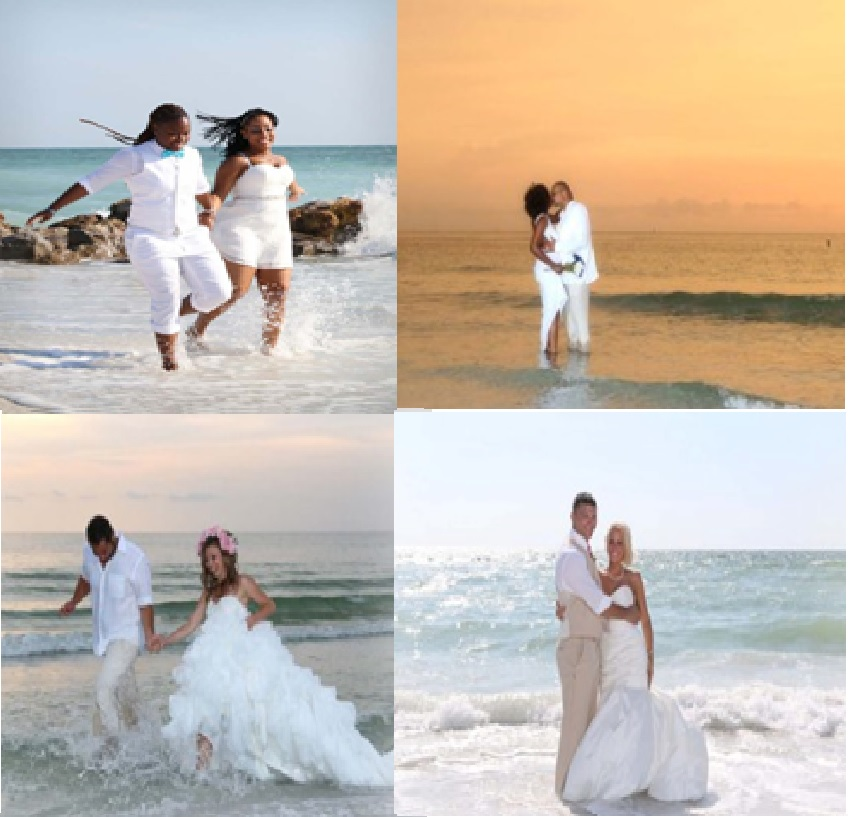 Pictures in the surf