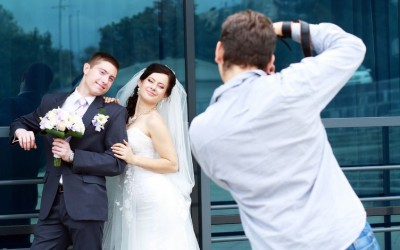 You wedding photographer in action