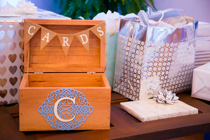 Box for wedding cards