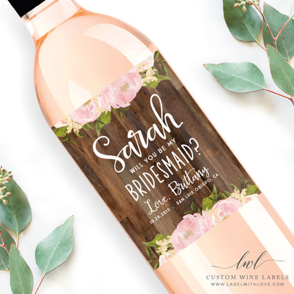 Label-with-Love-Custom-Labels-How-To-Ask-Your-Gal-Pals-To-Be-Your-Bridesmaid