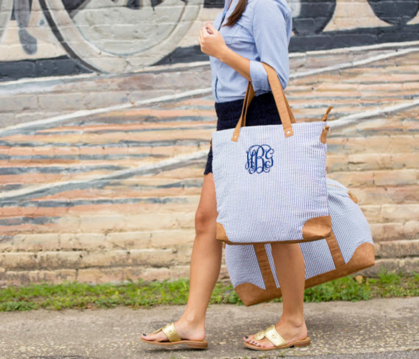 Monogram-Tote-Bag-How-To-Ask-Your-Gal-Pals-To-Be-Your-Bridesmaid