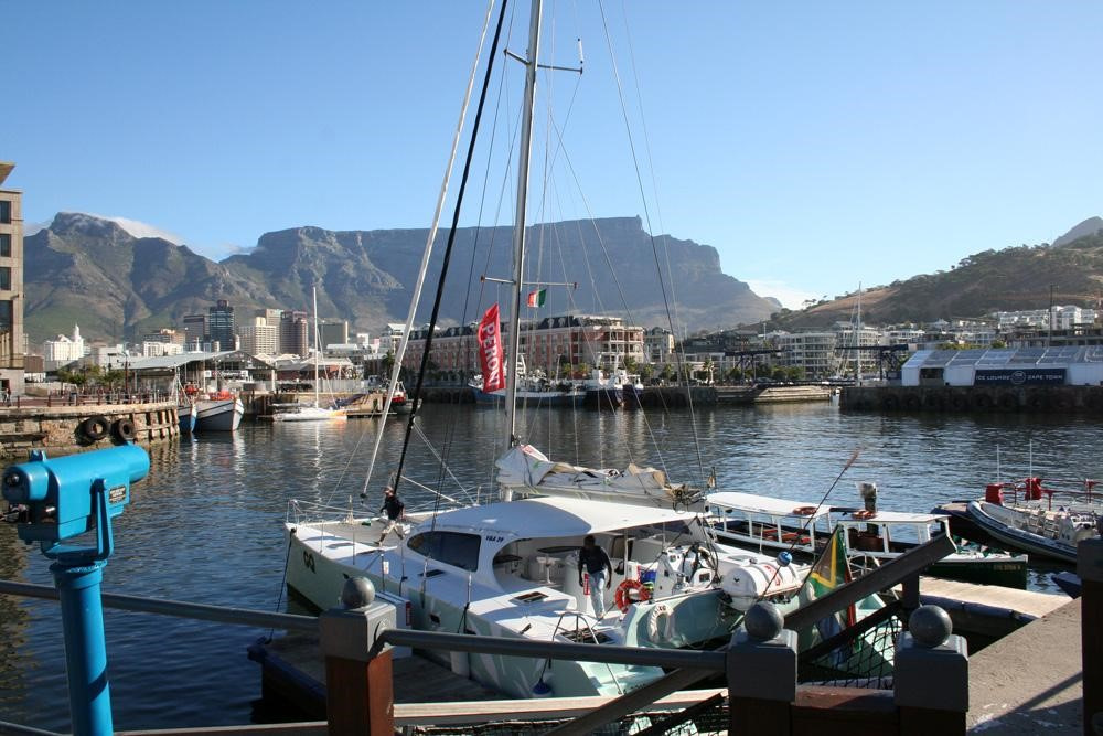 Harbor in South Africa