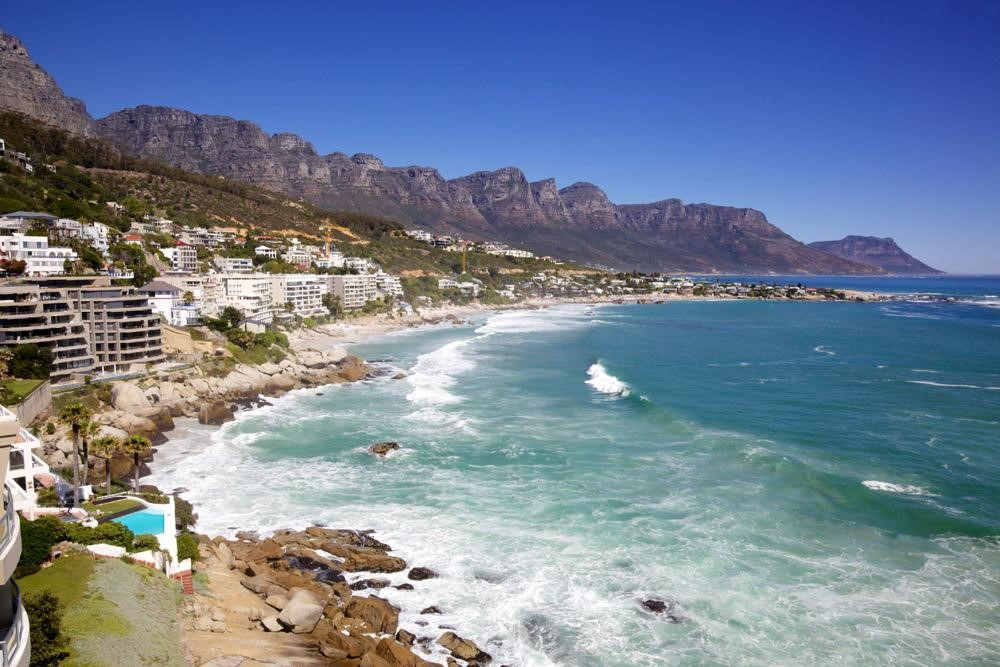 Beautiful South African seashore