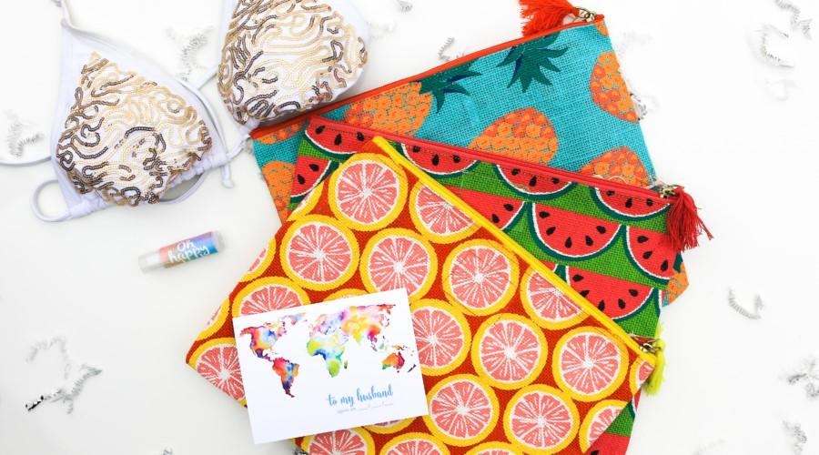 Wet bikini bag in Honeymoon Essentials Box