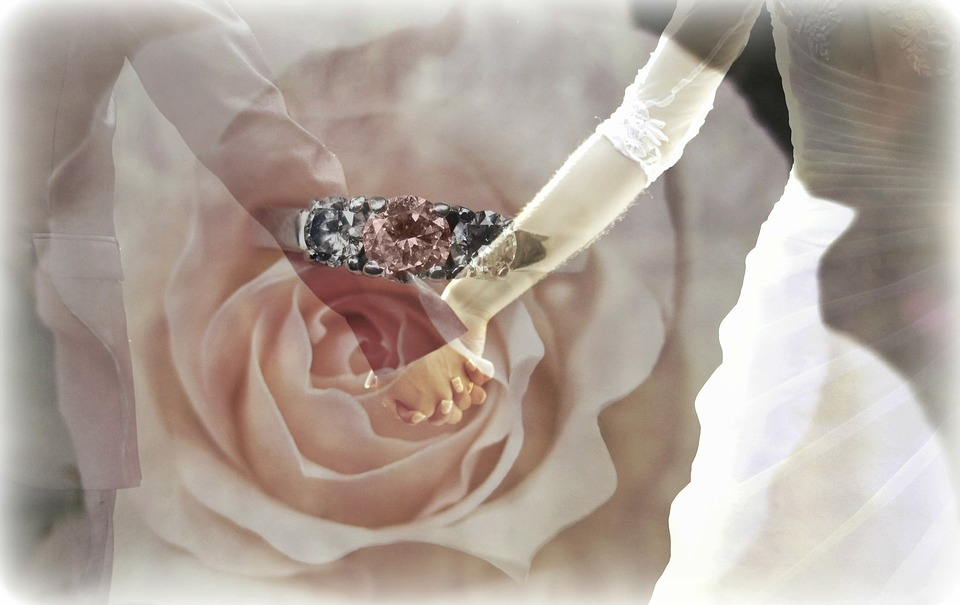 Think outside the box with your wedding ring