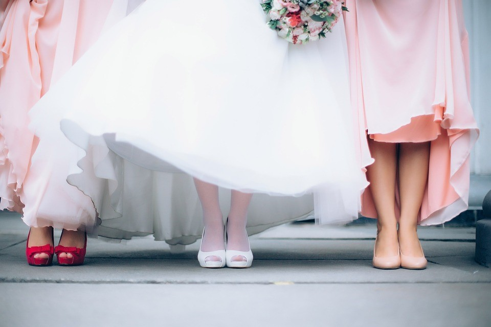 Selecting your bridesmaids dresses