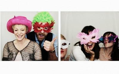 Photo strips make weddings fun