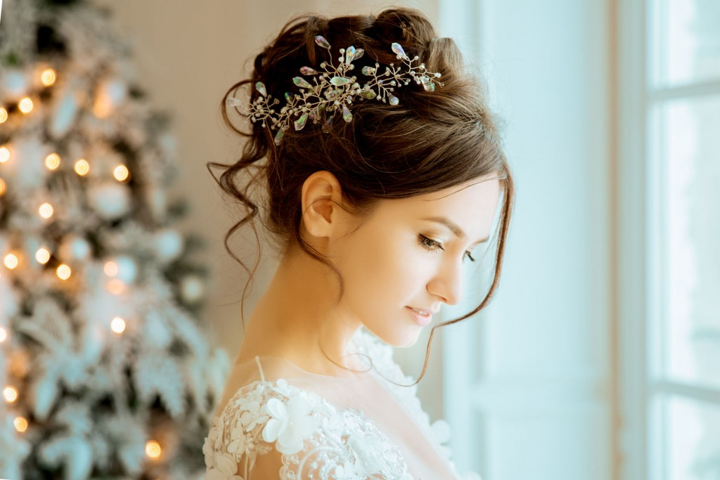 Your hair is your crowning glory on your wedding day