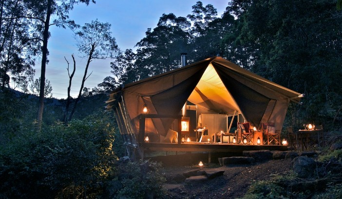 Nightfall Wilderness Camp, Scenic Rim Lamington National Park