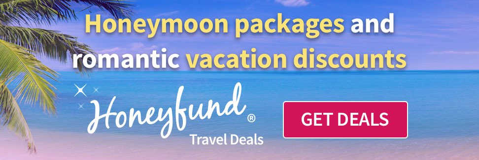 Free honeymoon registry by honeyfund the 1 cash wedding for Wedding registry house fund