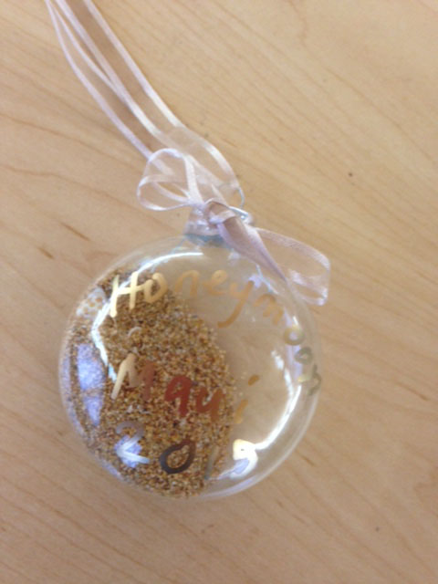 Photo of keepsake ornament